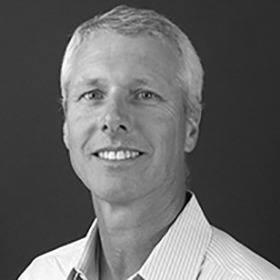 Black and white headshot of Scott Hamilton, Ph.D.